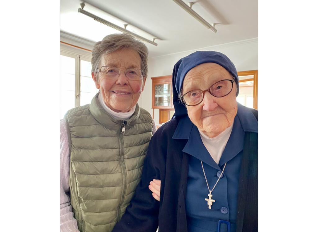 Entrañable despedida a una de las hermanas fundadora de la misión de la Congregación en Bolivia