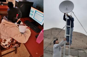 La Congregación y Mallorca Missionera colaboran para paliar la brecha digital en Bolivia y Perú
