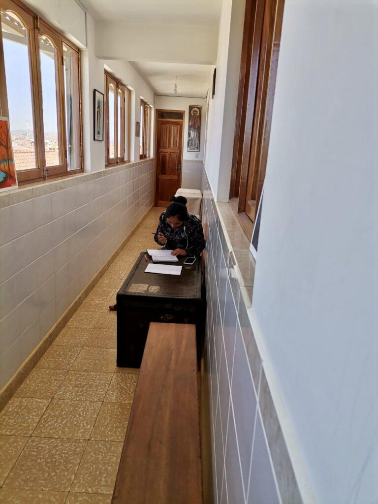 """Residencia universitaria """"Madre de Misericordia"""" de Sucre, principal proyecto de empoderamiento de la mujer en Bolivia"""