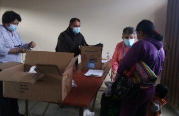 Organización y planificación en la entrega de alimentos en la Fundación Nueva Luz en Cochabamba (Bolivia)