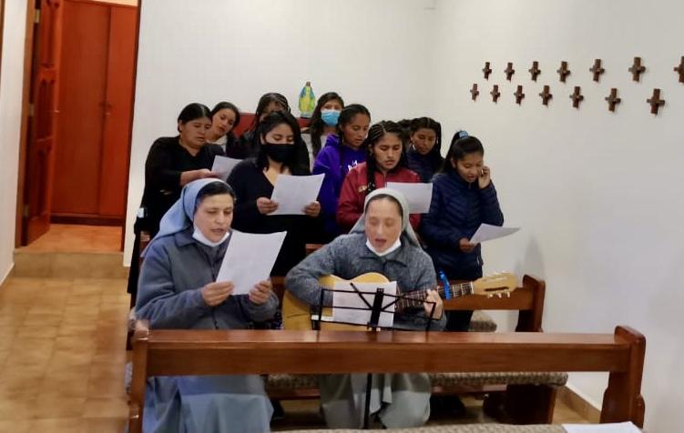 Celebración de los 165 años de misión de Misericordia en Bolivia y Perú